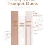 Burgstahler, Elton E, 37 Trumpet Duets-p01