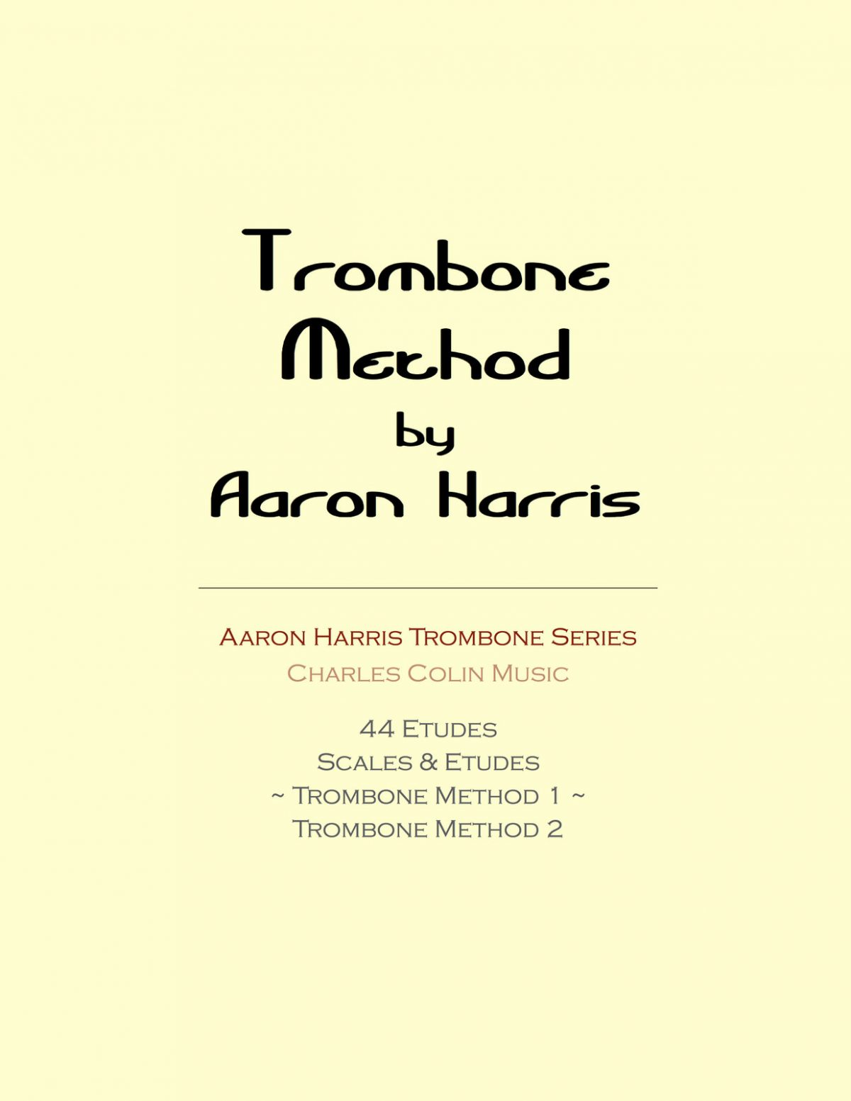 Harris, Trombone Method Book 1-p01