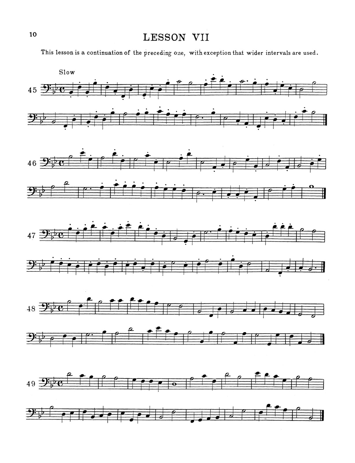 Harris, Trombone Method Book 2-p10