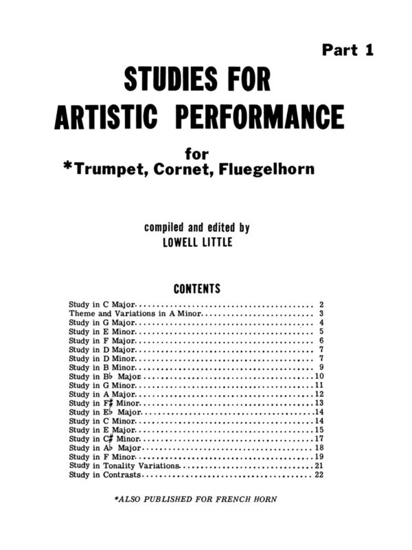 Little, Studies in Artistic Performance Volumes 1 & 2-p05