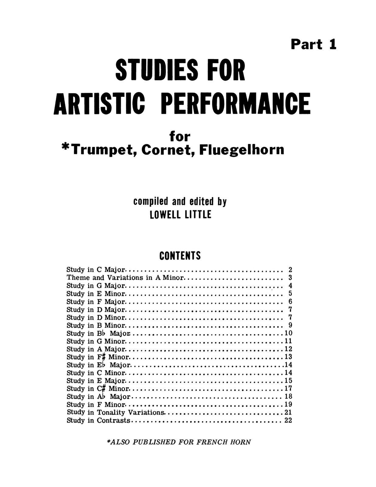 Little, Studies in Artistic Performance Volumes 1 & 2-p05
