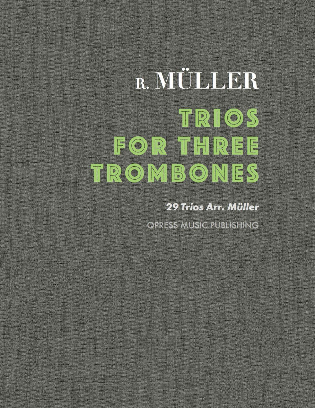 Muller, trios for 3 trombones-p1