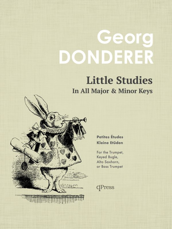 Donderer, Georg, Little Studies for Trumpet-p01