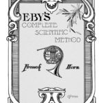 Eby, Scientific Method for Horn