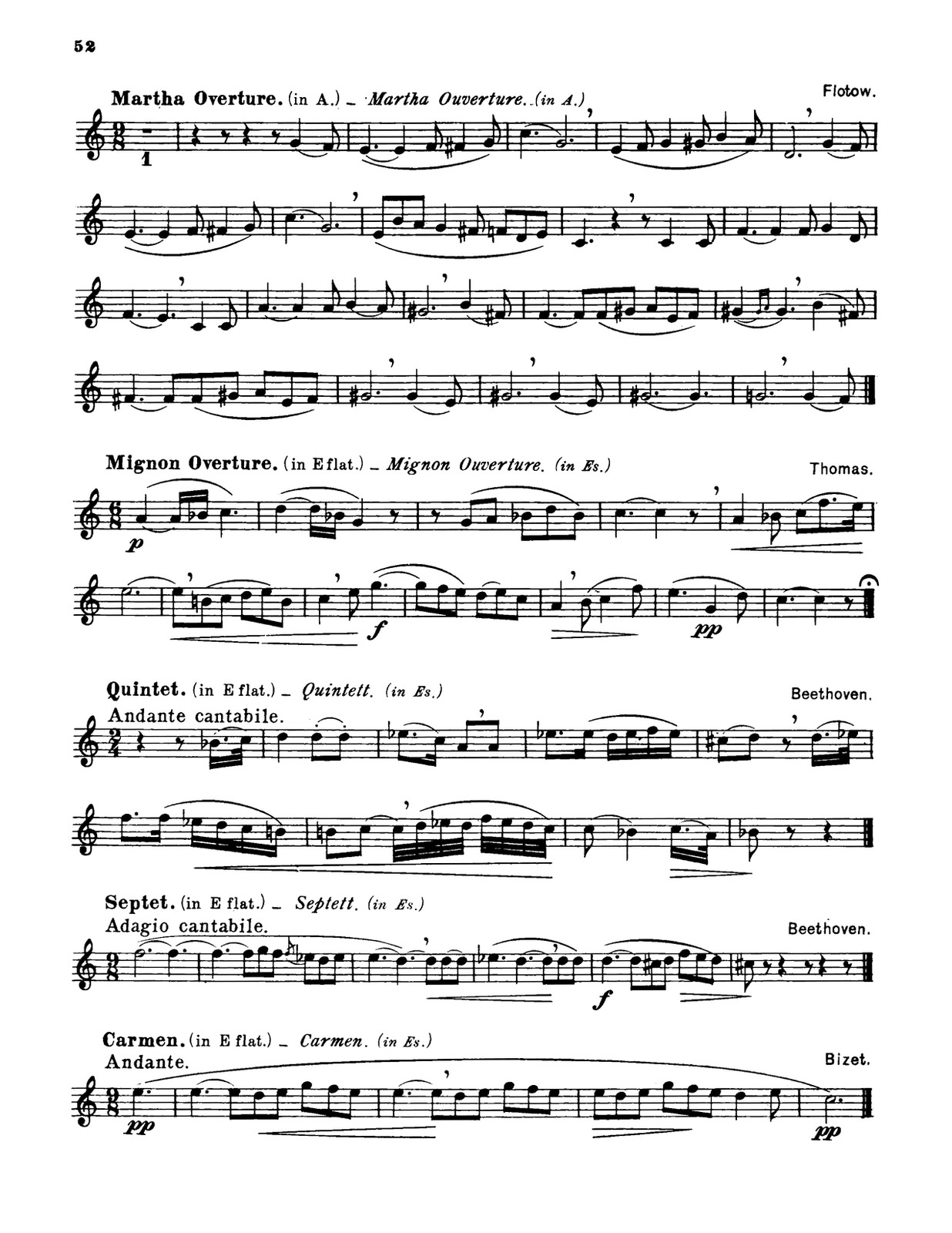 Franz, Oscar, Complete method for the French Horn-p054