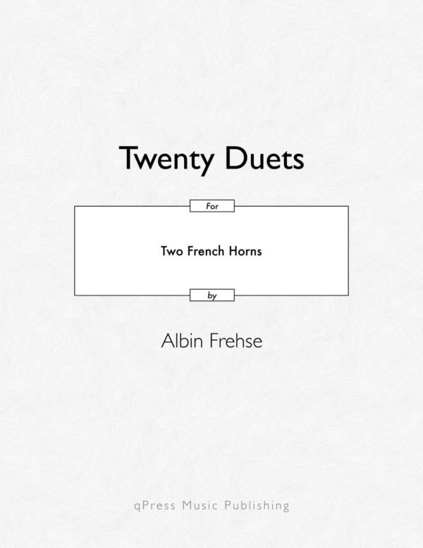 20 Duets for Two Horns