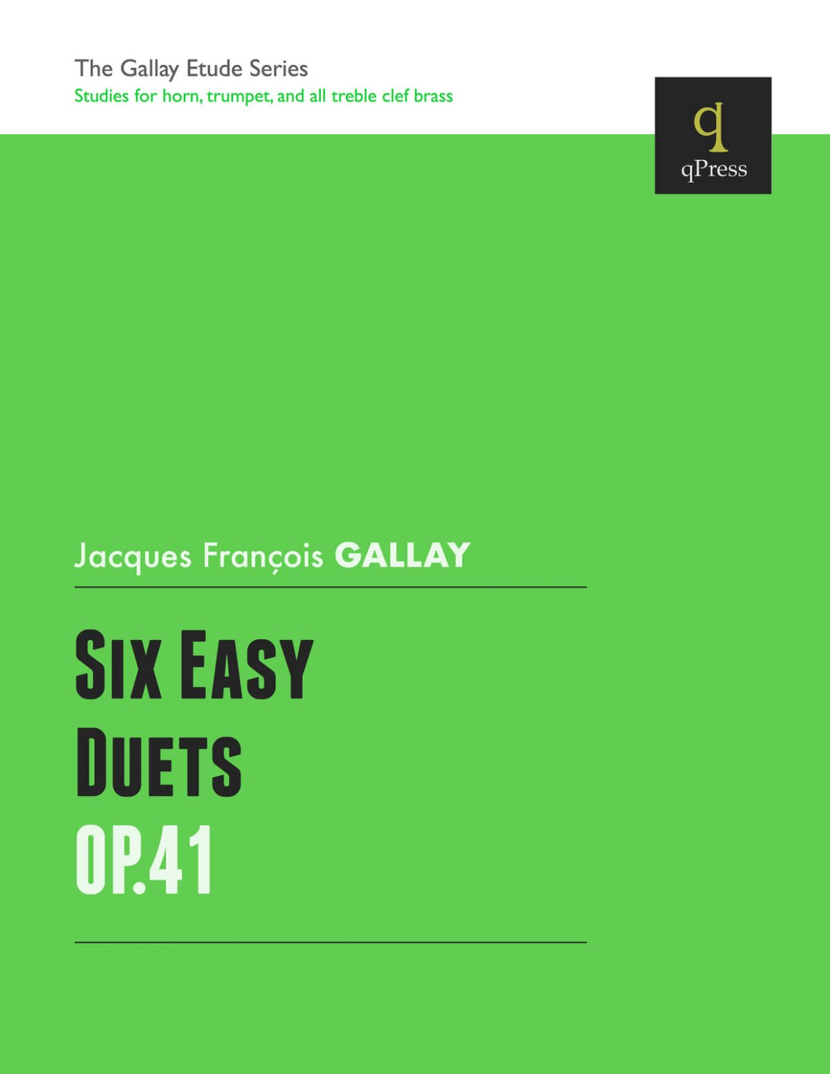 Gallay, 6 Easy Duets for Trumpet-p01