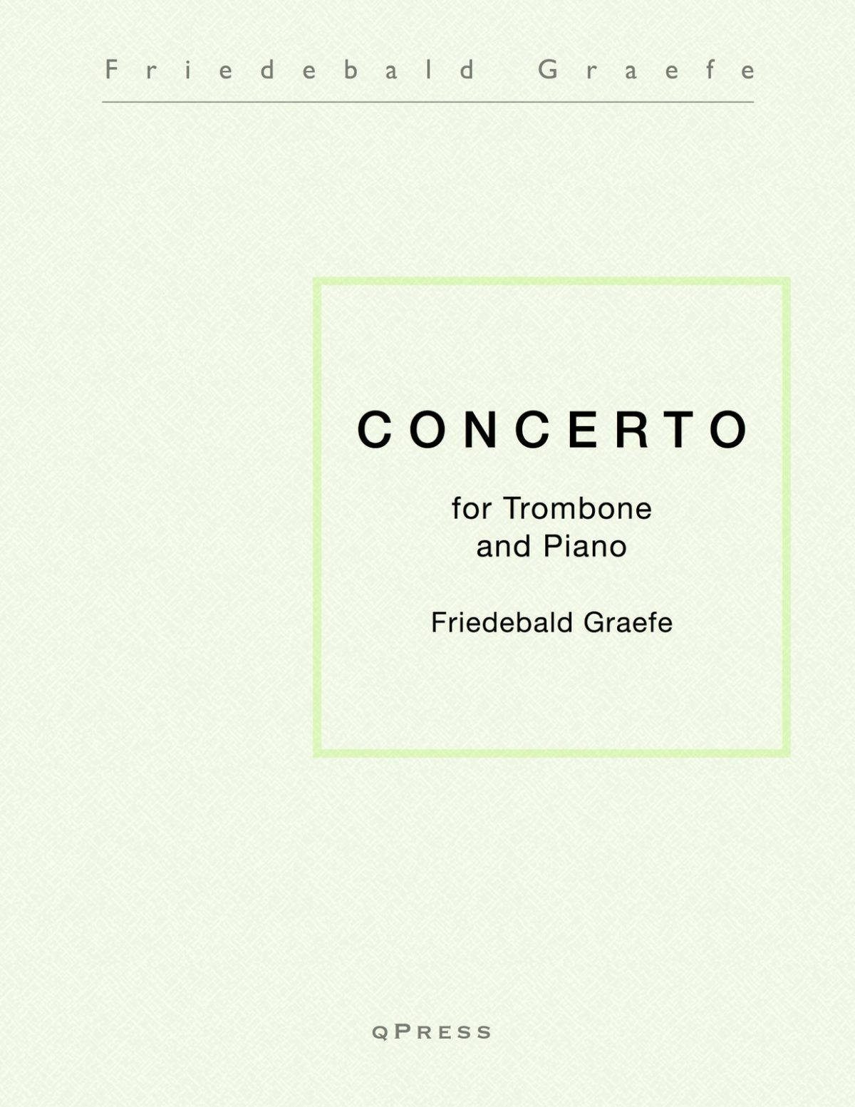 Graefe, Concerto for Trombone-p01