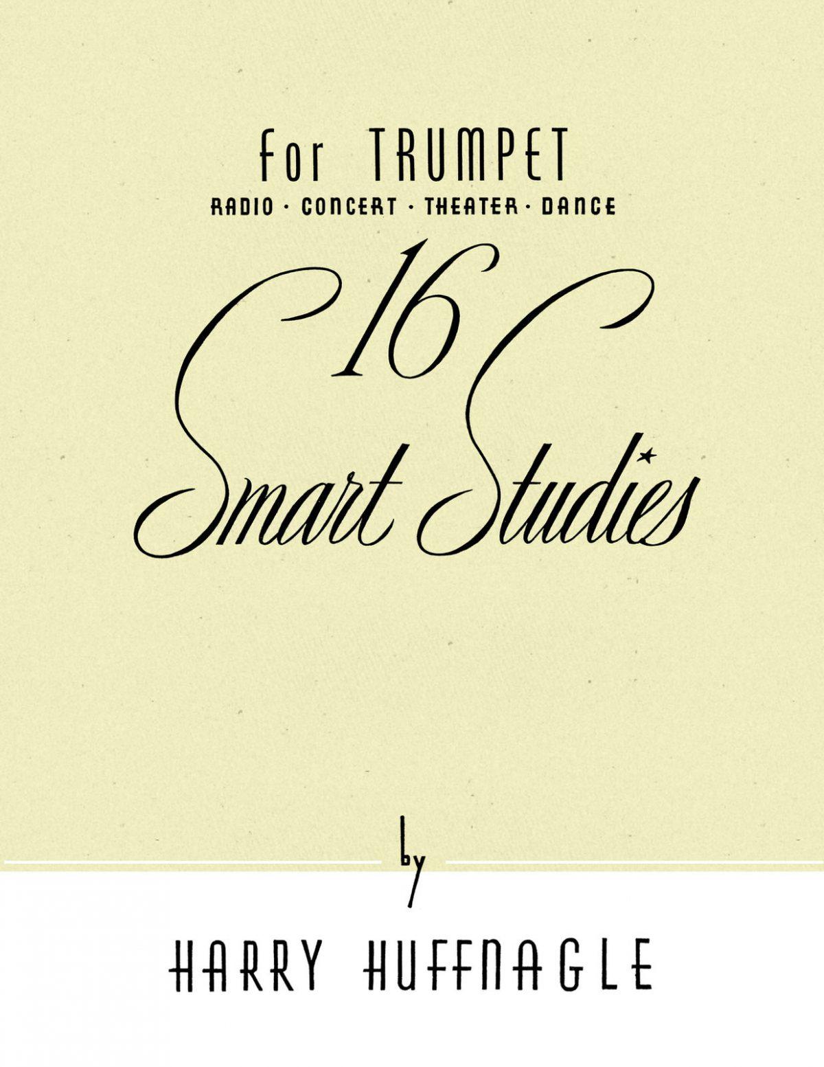 Huffnagle, 16 Smart Studies for Trumpet-p01