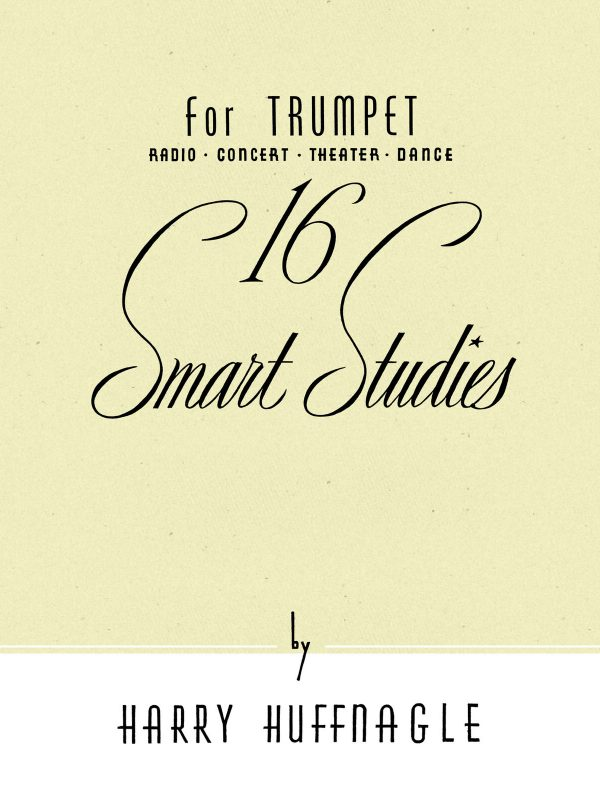 Huffnagle, 16 Smart Studies for Trumpet-p01