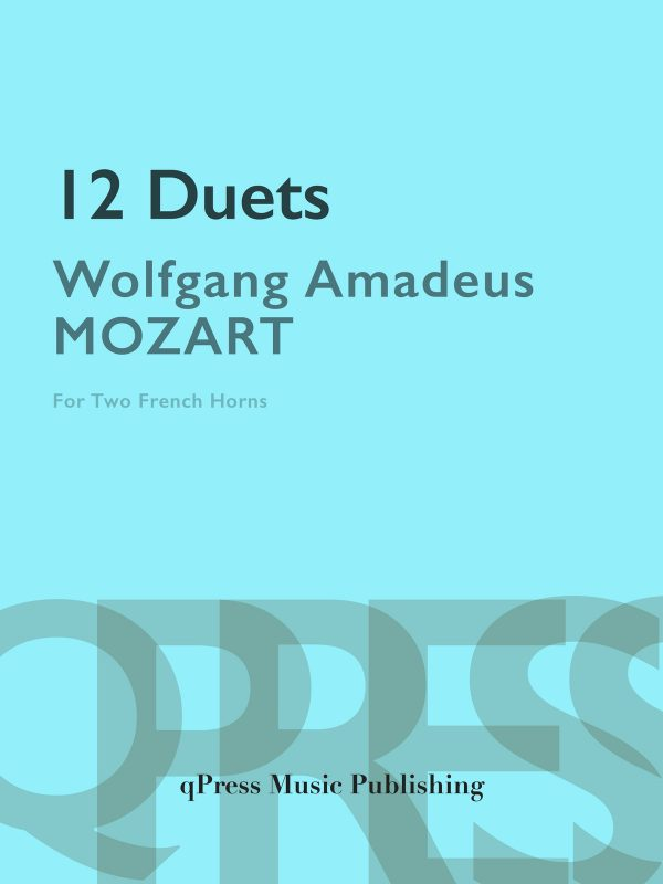 Mozart 12 Duets for Horn-p01