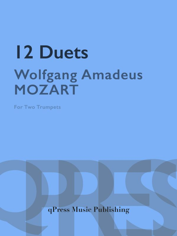 Mozart, 12 Duets for Trumpet-p01