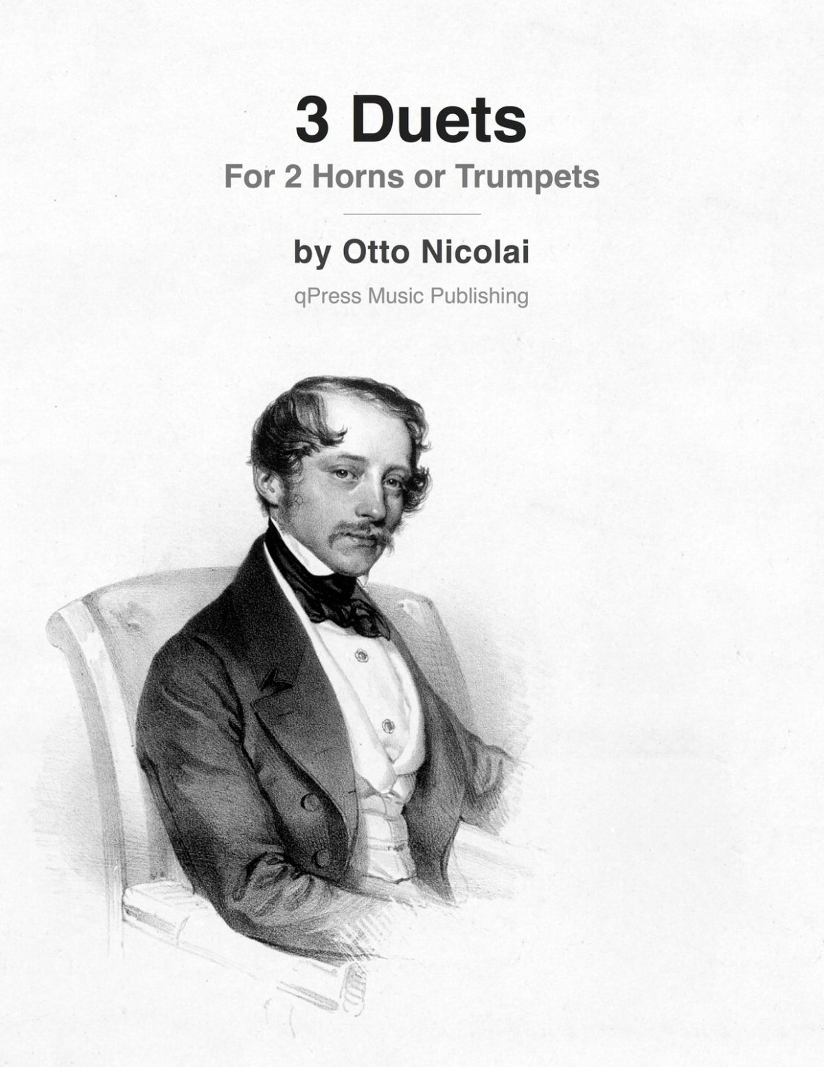 Nicolai, Three Duets-p01