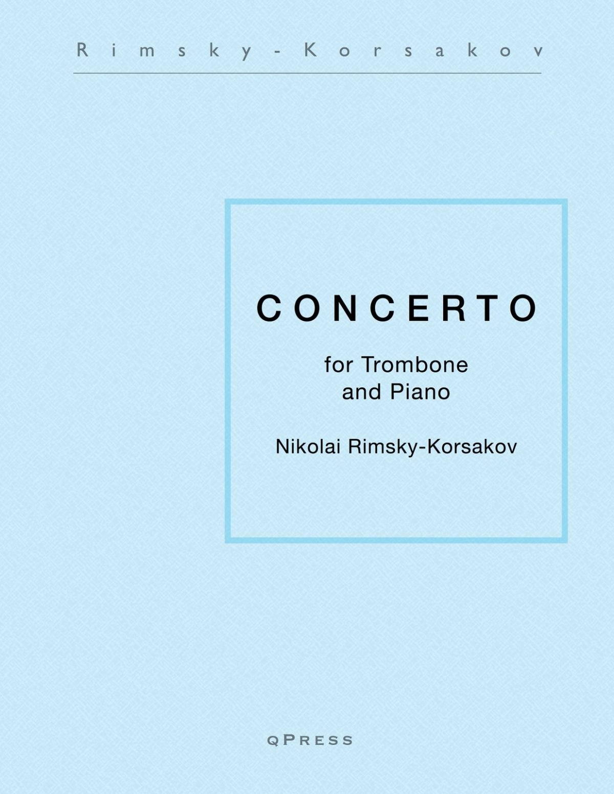 Rimsky-Korsakov, Trombone Concerto (complete)-p01