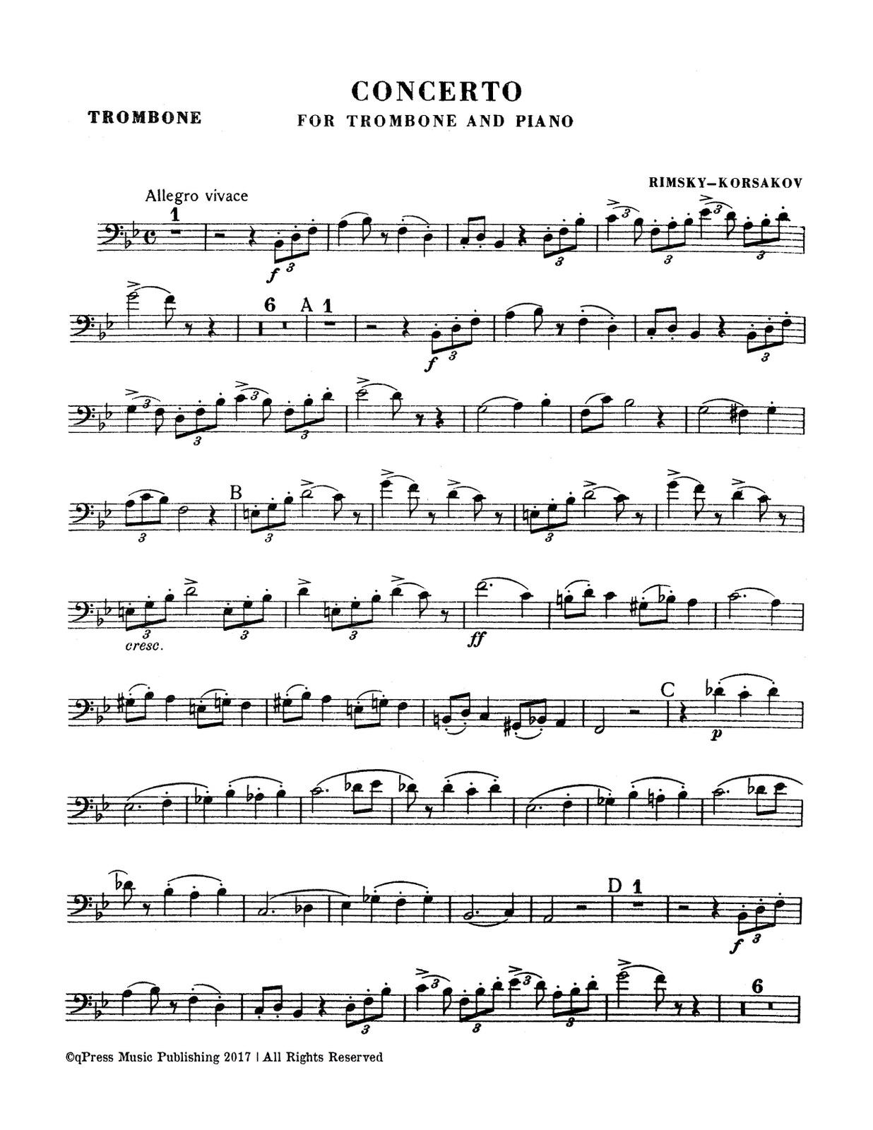 Rimsky-Korsakov, Trombone Concerto (complete)-p03