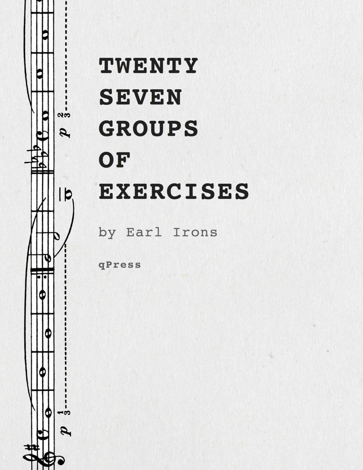 Irons, 27 Groups of Exercises-p01