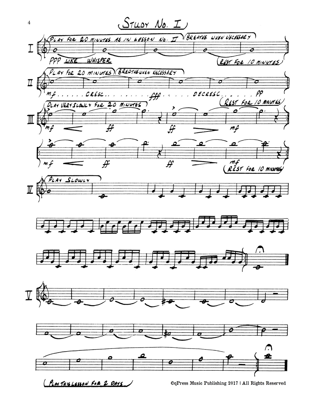 Anderson, Trumpet Method (a systematic approach to playing high notes)-p06