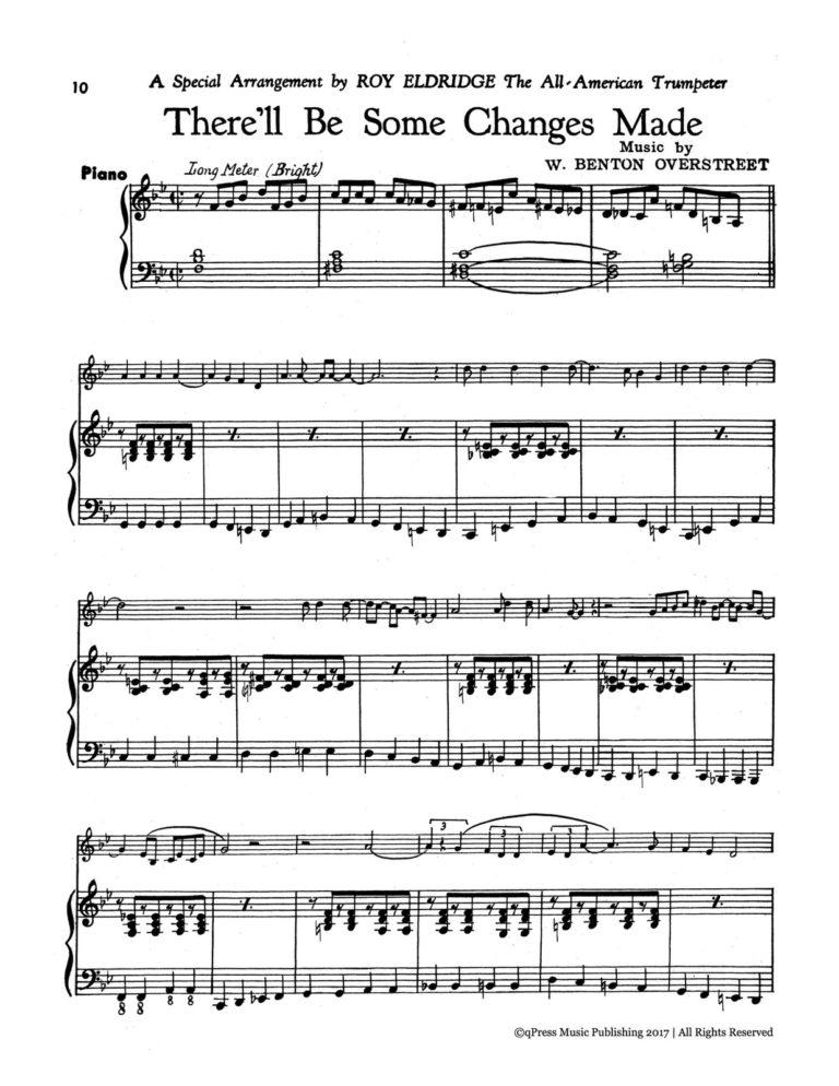 Roy Eldridge's Album of Swing Trumpet Solos
