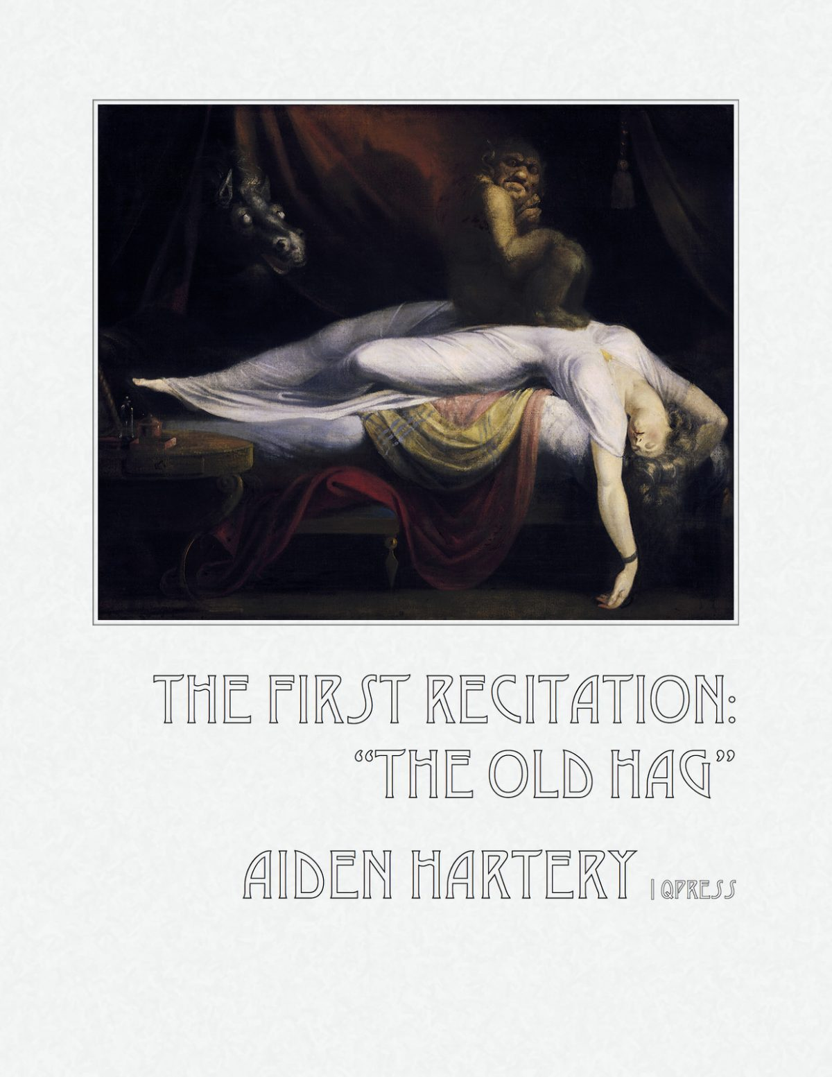 Hartery, First Recitation, the old Hag