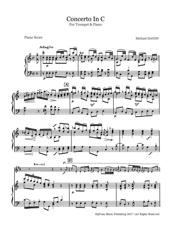 All Music Chords haydn trumpet concerto sheet music : Trumpet and Piano PDFs | Page 4 of 7 | qPress