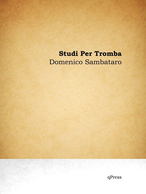 Sambataro, Domenico, Studi per tromba in Bb-p01