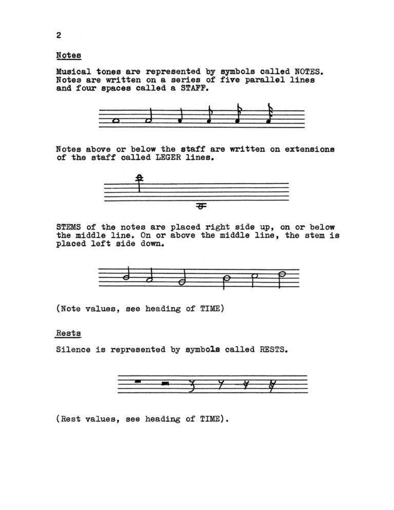 Music Primer