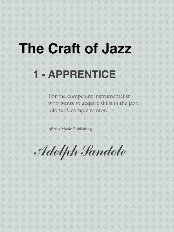 Sandole, The Craft of Jazz 1, Apprentice-p001