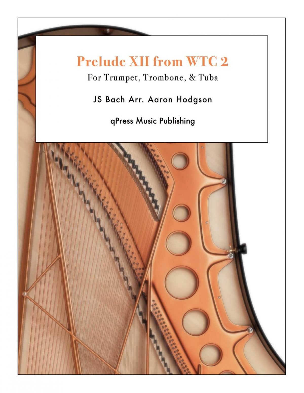 Bach, Prelude XII from WTC 2 (Brass Trio)-p01