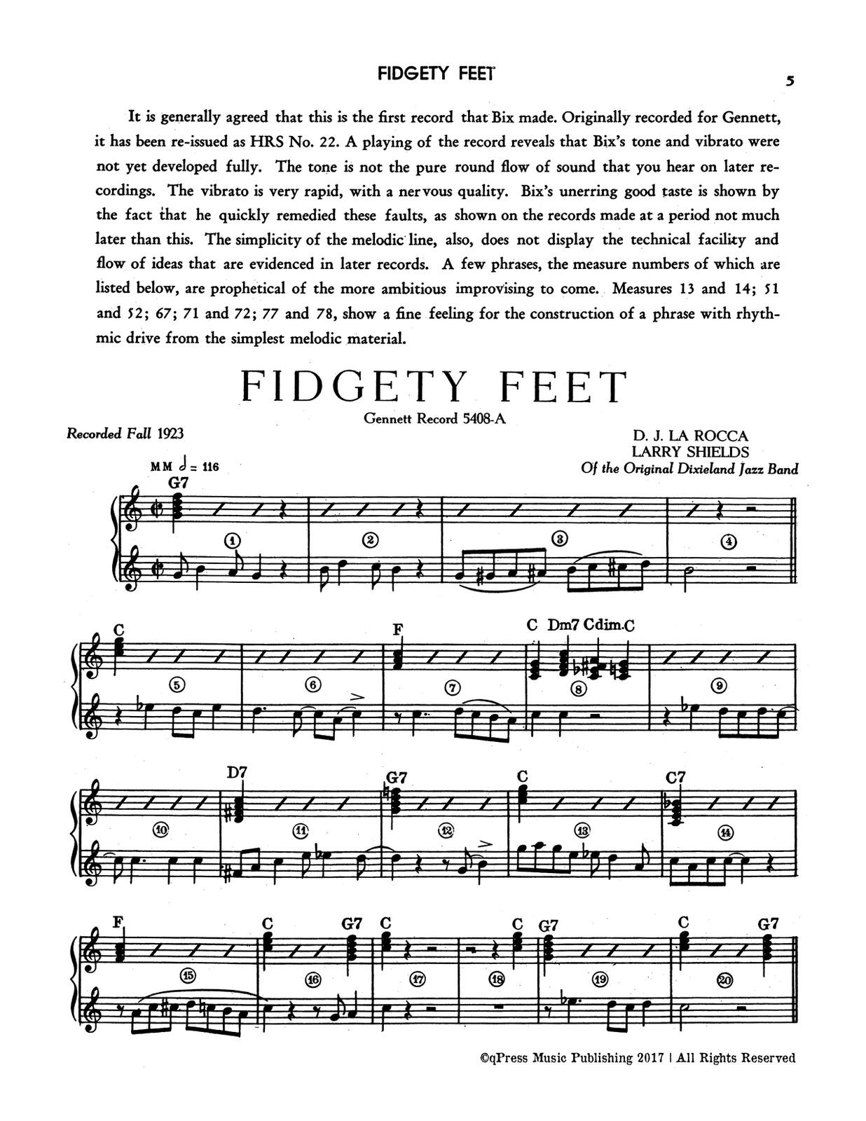 Beiderbecke, Trumpet Transcriptions-p07