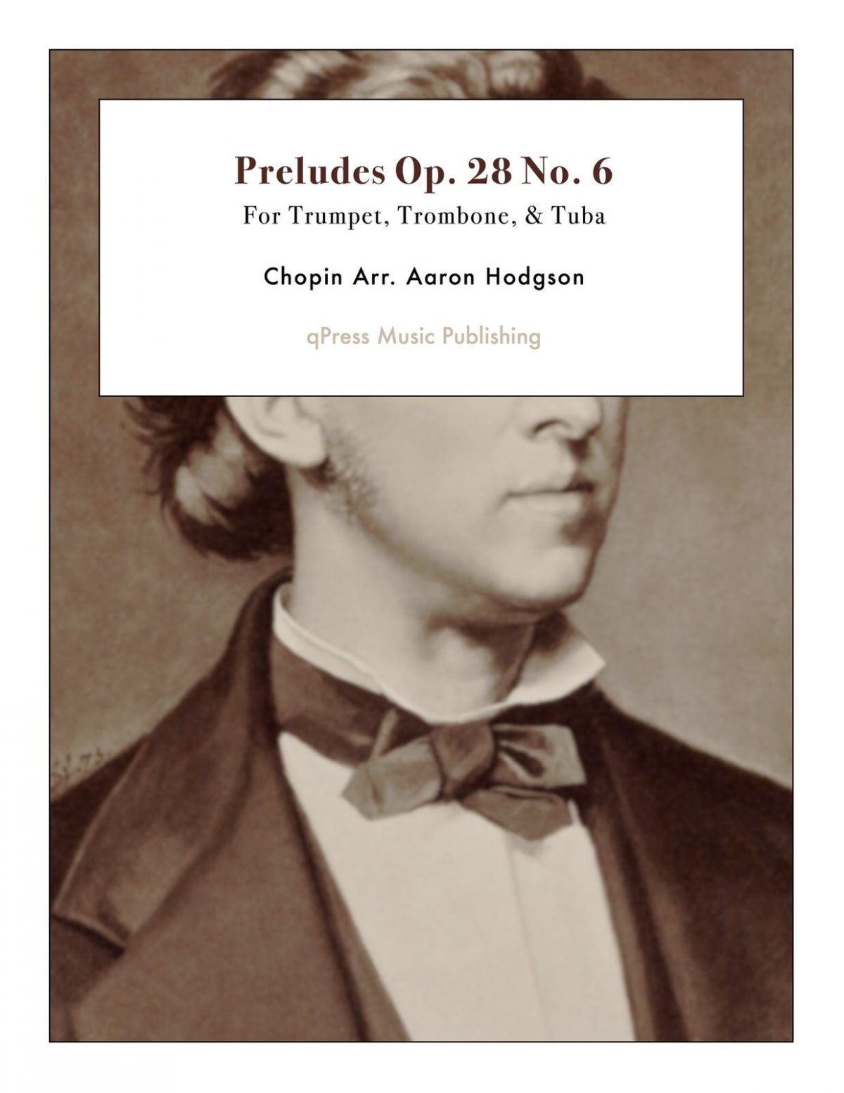 Chopin, Preludes Op.28 No.6 (Score and Parts)-p1