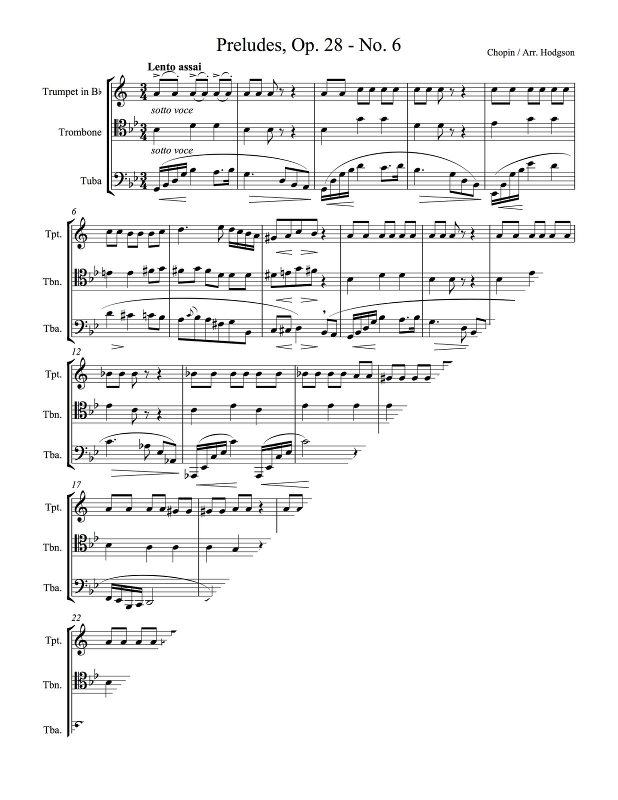 Chopin, Preludes Op.28 No.6 (Score and Parts)-p9