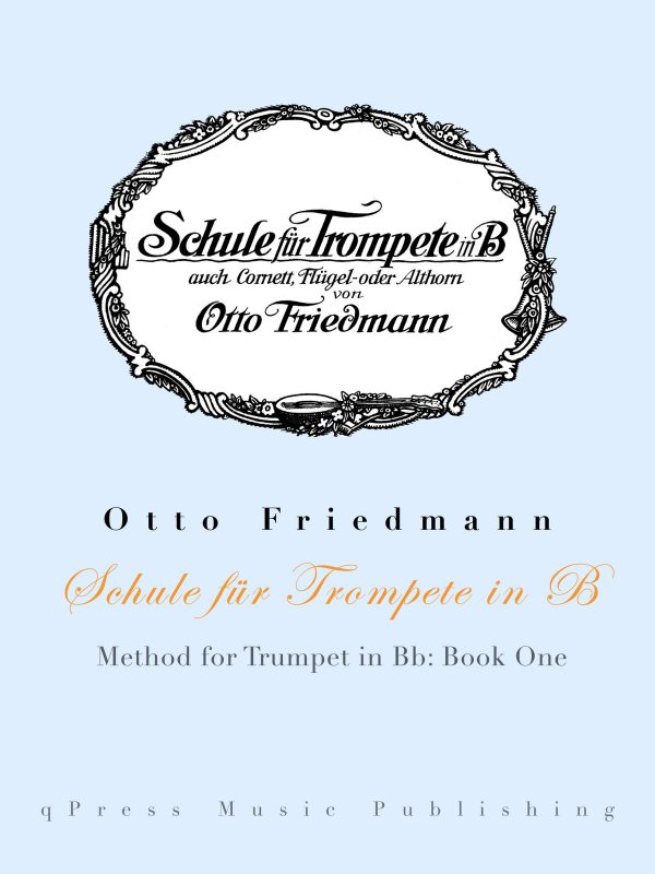 Friedmann, Otto, Schule fur Trompete Part 1-p01