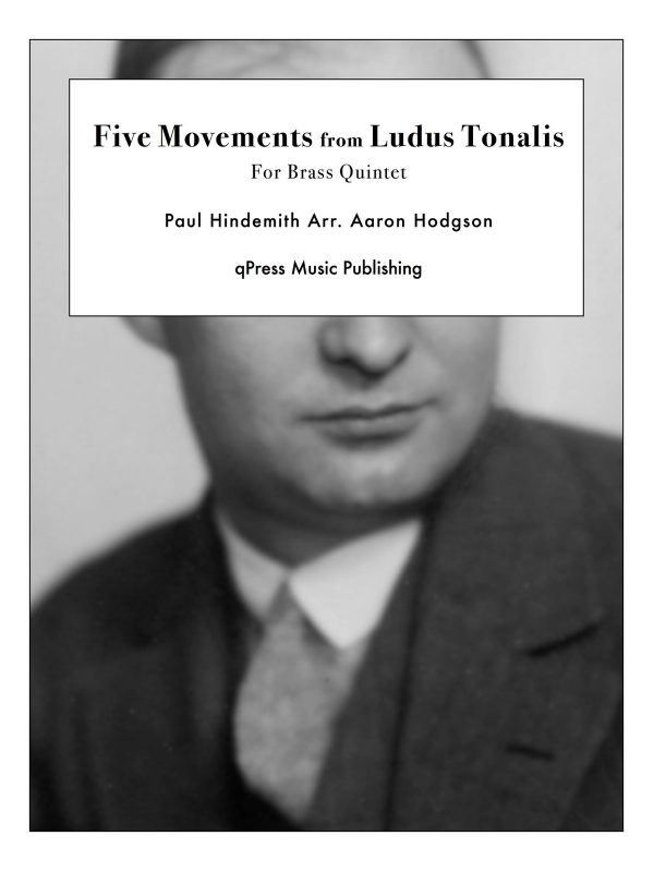 Hindemith, Five Movements from Ludus Tonalis (Score and Parts)-p01