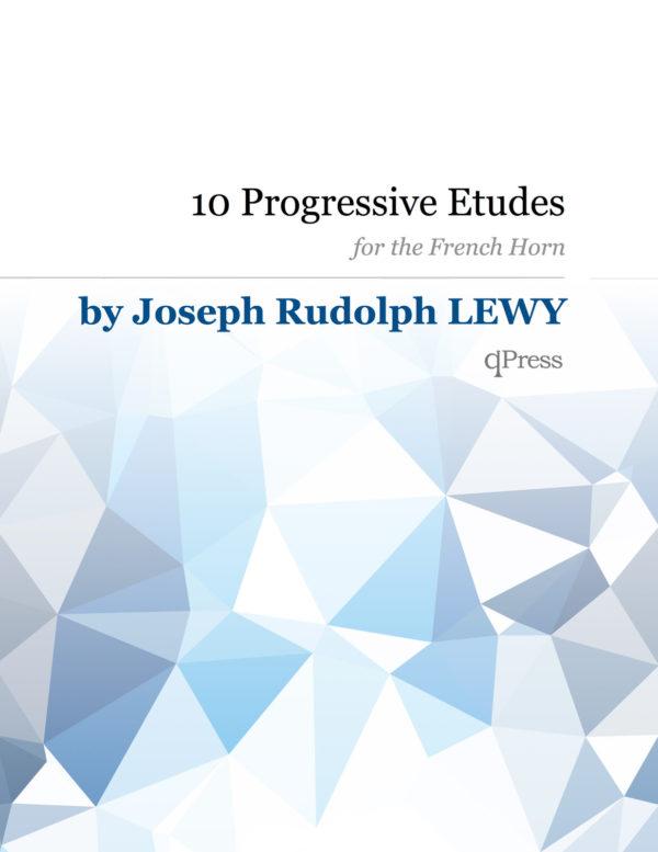 10 Progressive Etudes for Horn