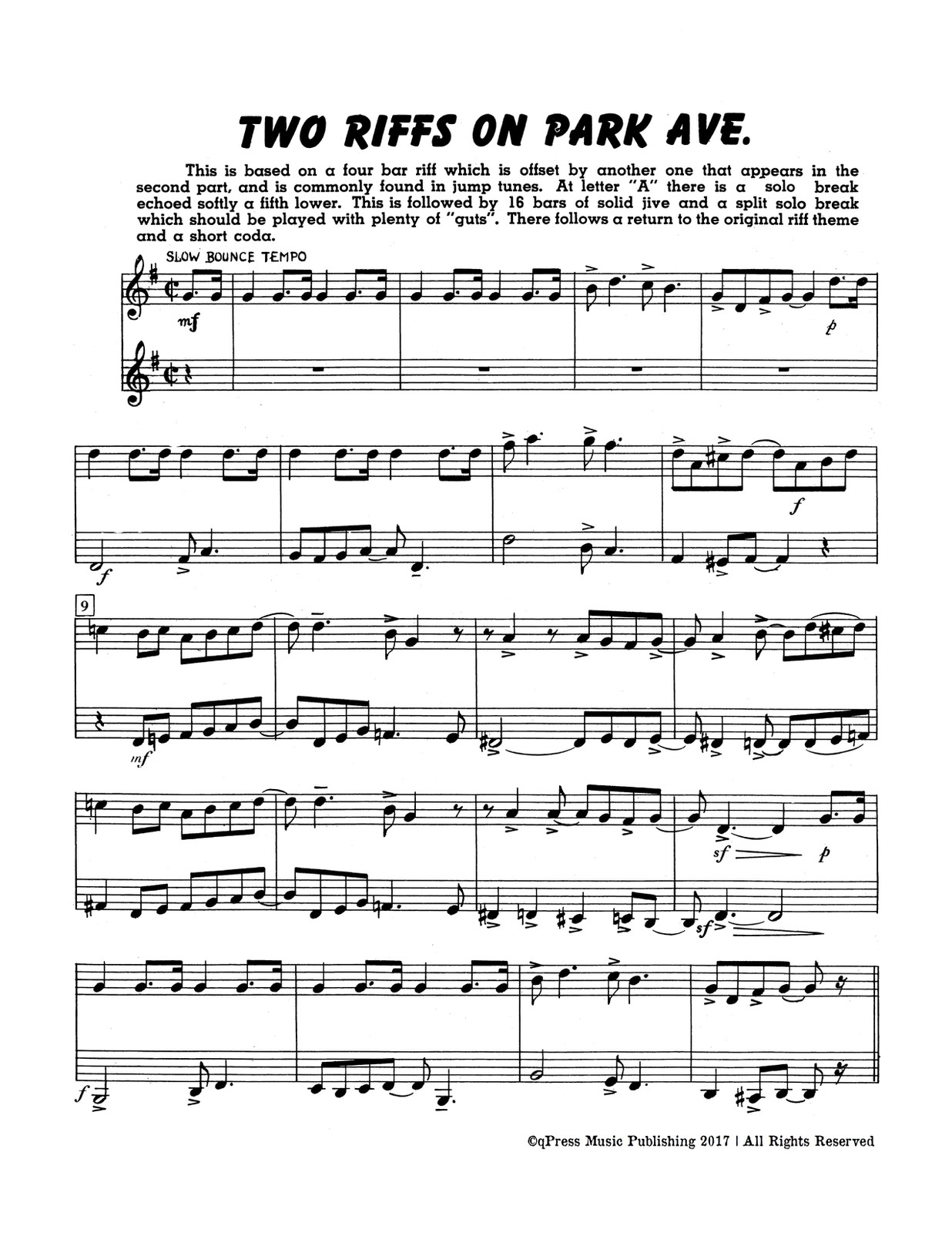 Paisner, Swing Duets for Trumpet-p03