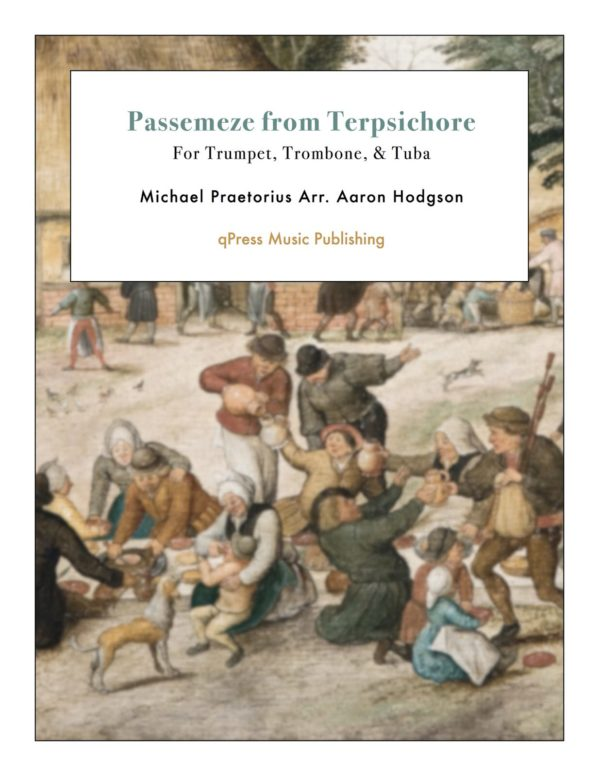 Passemeze from Terpsichore
