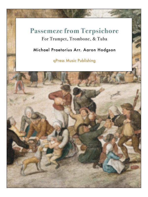 Praetorius, Passemeze from Terpsichore-p01