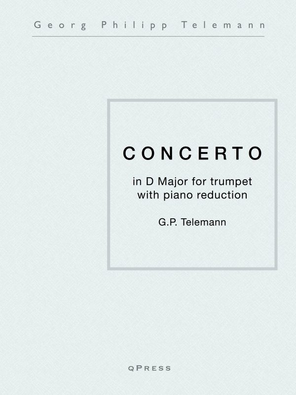 Telemann, Concerto in D (Part and Score)-p01
