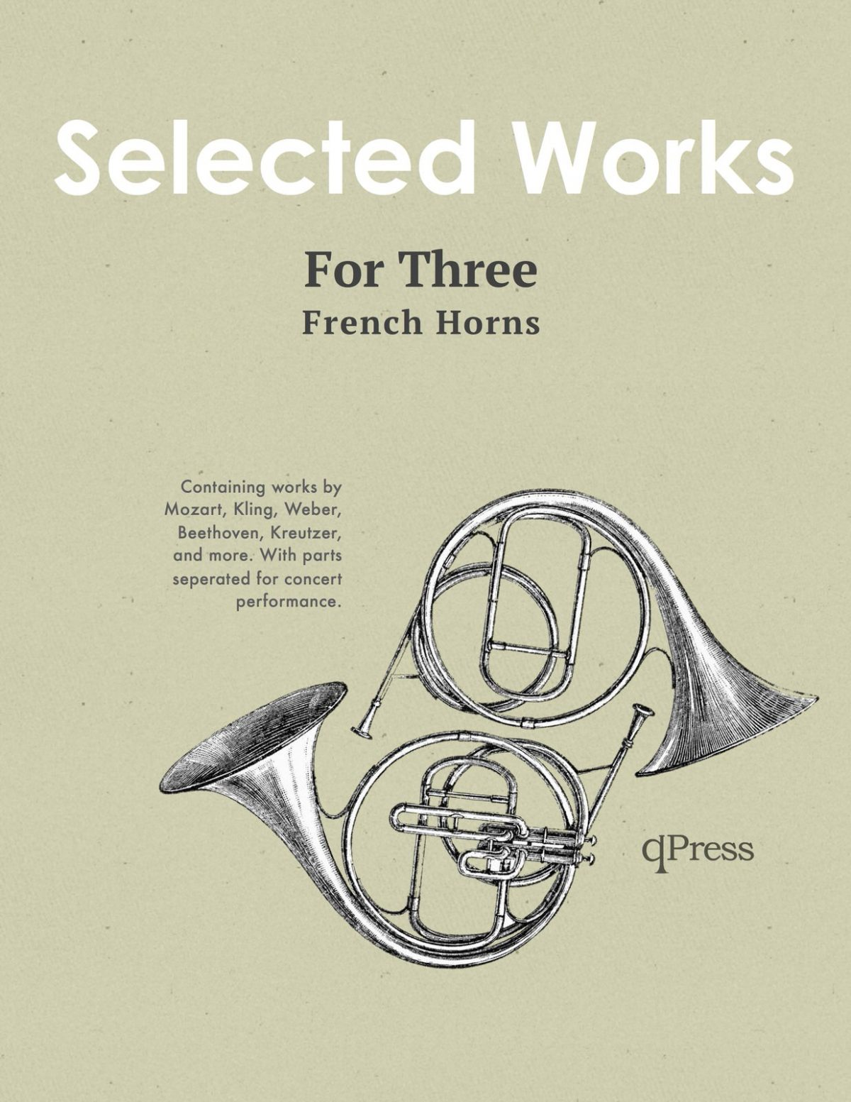 Various, 30 Selected Works for Three Horns-p01