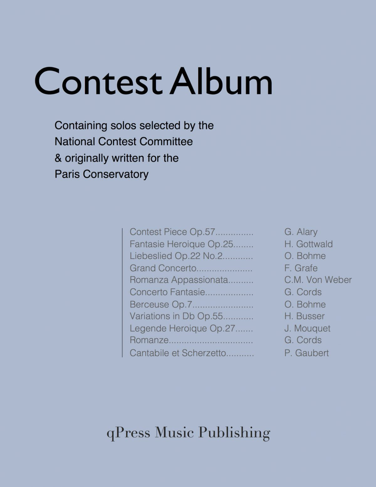 Various, Contest Album