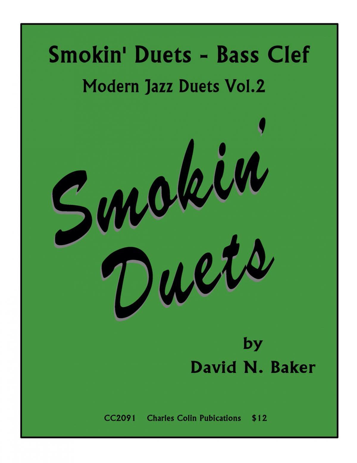Baker, Smokin' Duets Bass Clef-p01