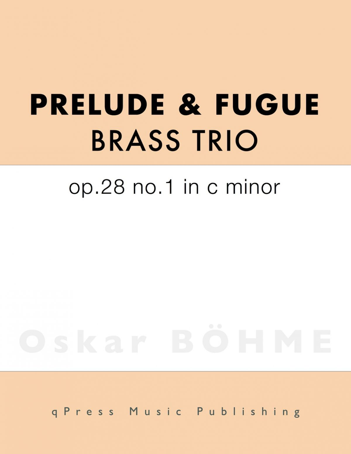 Bohme Prelude C minor No.1-p1