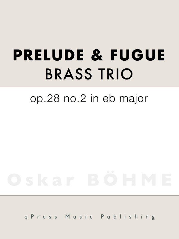 Bohme Prelude Eb major No.2-p01