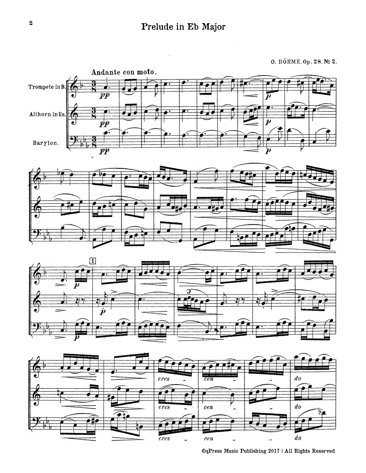 Bohme Prelude Eb major No.2-p02