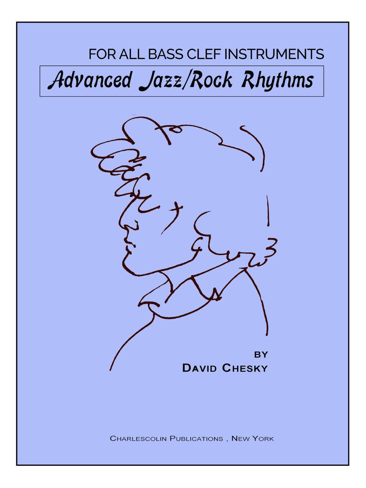 Chesky, Advanced Jazz Rock Rhythms Bass Clef-p01