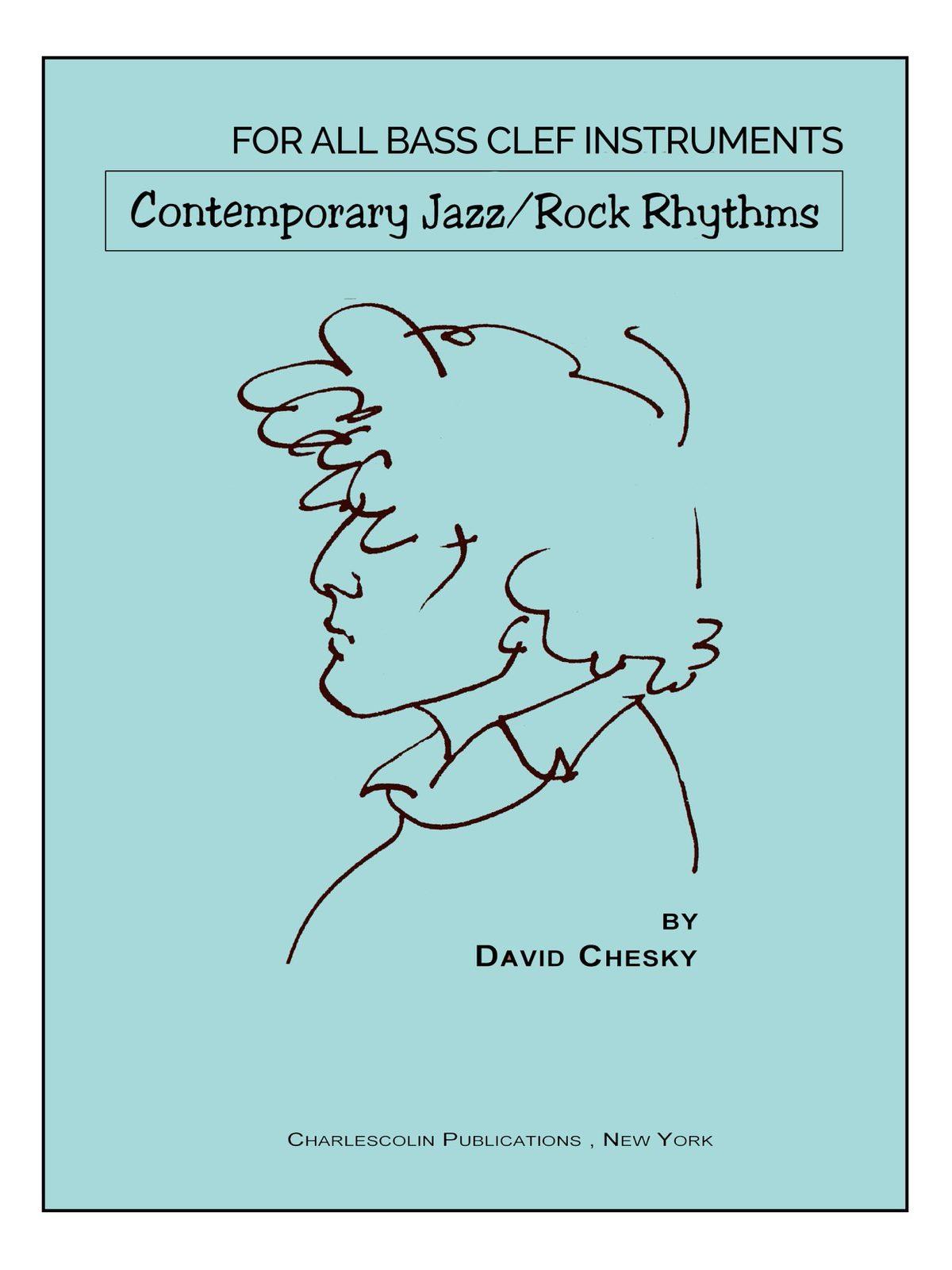 Chesky, Contemporary Jazz Rock Rhythms Bass Clef-p01
