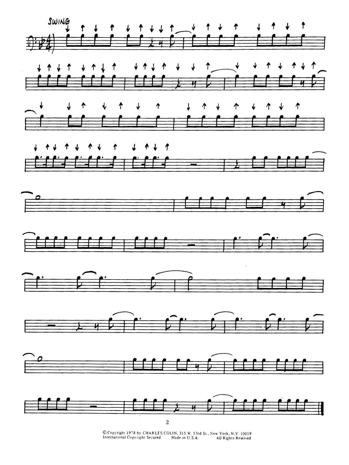Chesky, Contemporary Jazz Rock Rhythms Bass Clef-p06