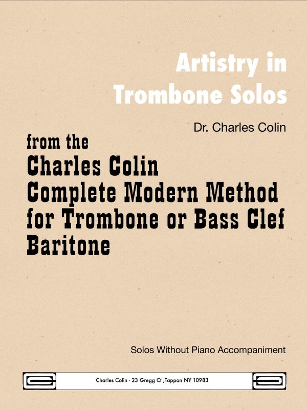 Colin, Artistry in Trombone Solos-p01