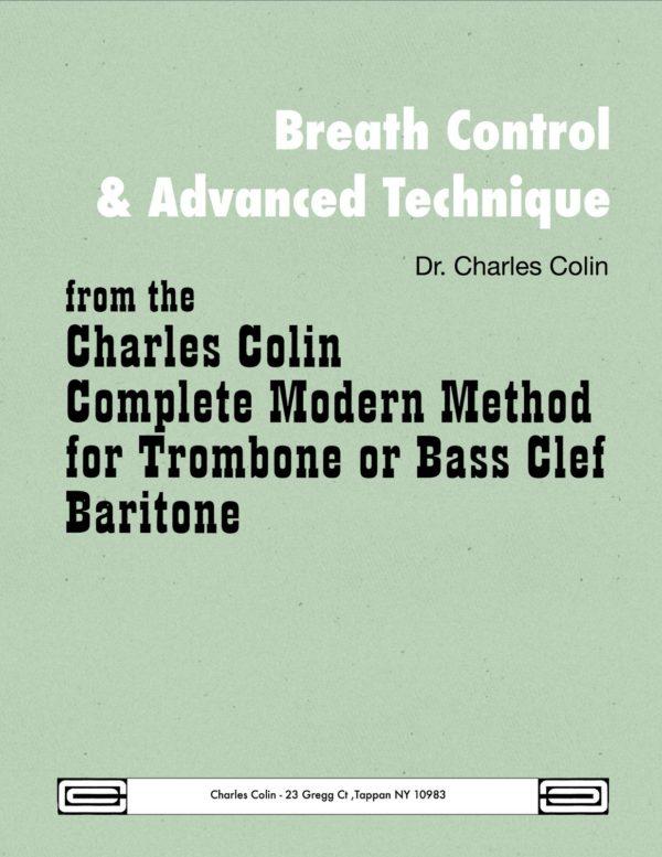 Breath Control & Advanced Technique for Trombone/Tuba
