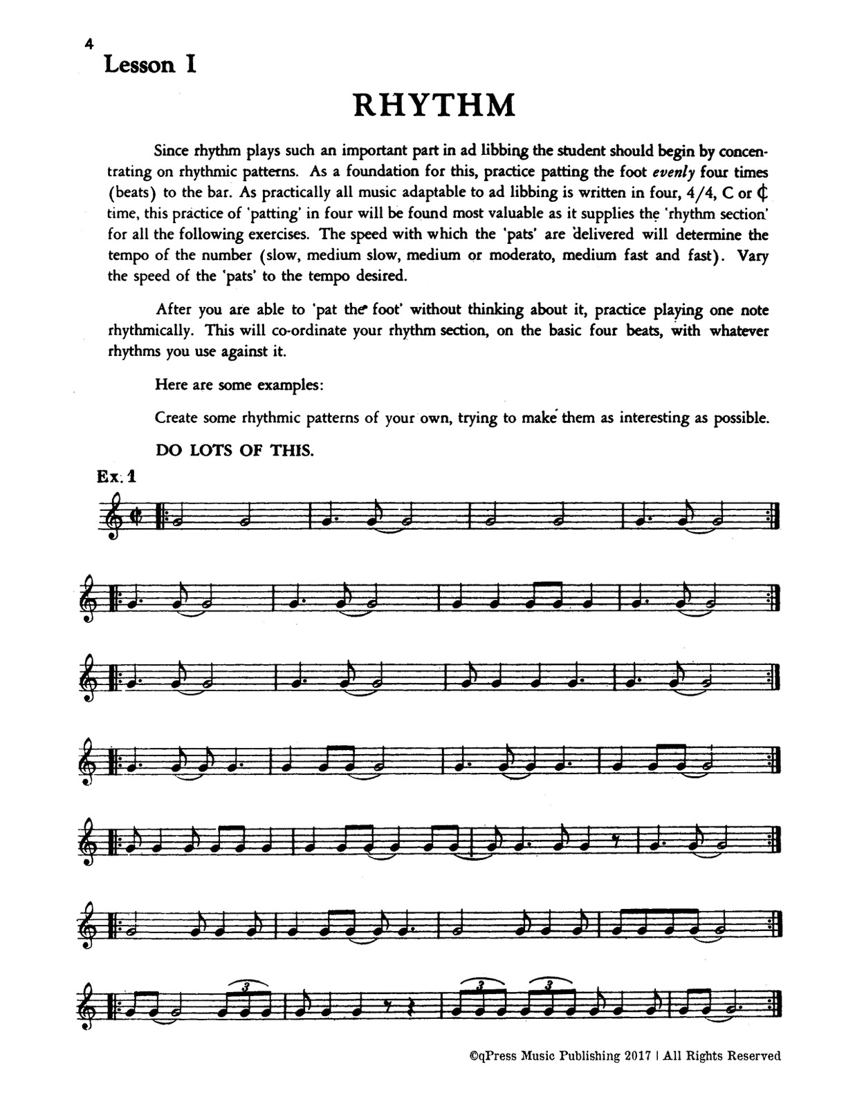 Eldridge, Short Cut to Good Ad-Libbing (A new concise method in the art of improvisation)-p06